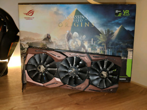 Asus Strix 1080 Ti OC Assassin's Creed Limited Edition