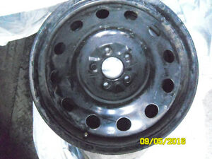 mazda 3 speed ,mazda 6 & cx5 cx7  black steels rims