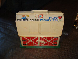 vintage fisher price barn