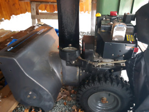 8 HP MURRAY PRO SERIES SNOWBLOWER WITH 27'' INCH CUT