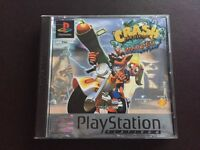 PlayStation 1 crash bandicoot boxed game