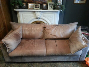 Free leather couch, James N