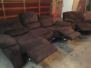 RECLINING COUCH AND CHAIR Strathcona County Edmonton Area image 2
