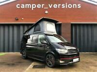 BRAND NEW VW T6 Campervan HIGHLINE 0 Miles Air Con RIB Bed Eberspacher