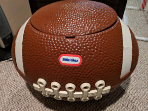 Like new football toy chest
