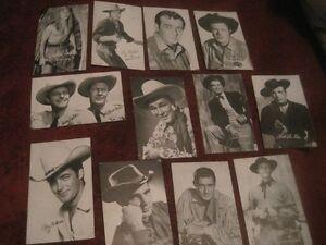 Vintage tv gunslinger cards