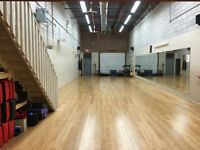Fitness Space for rent (Yoga, dance, fitness, martial arts etc)