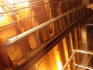 20 ft. aluminum d- rung extention ladder