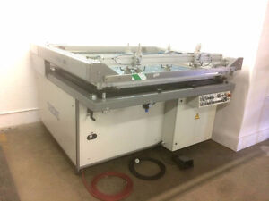 Thieme 530 Flatbed Screen Printing Press Large Format Silkscreen
