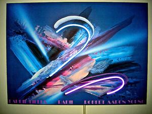 LAURIE FIELDS RADII ROBERT AARON YOUNG Abstract NEON—Original