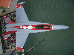 Radio Controlled Hornet Jet (Save around 250.00)