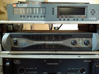 QSC PLX 3402 Power Amp in excellent condition