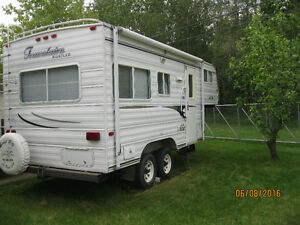 Travelaire 20' Rustler 5th Wheel - Pull your trailer AND boat