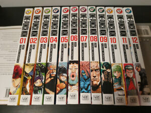 One-Punch Man Manga Collection 12 Volumes