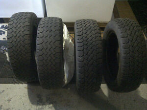 4 Winter Tires--185/65R/15 West Island Greater Montréal image 3