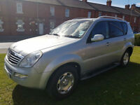 Ssangyong Rexton 2.7TD SX 7 Seater RX 270 PX Swap Anything considered