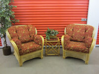Moving - Bamboo Conversation Set - ( Delivery )