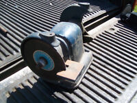 large cast grinder with variable speed 1/4 HP motor.