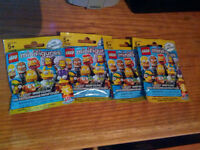 Selling/Trading Lego Simpsons Minifigures