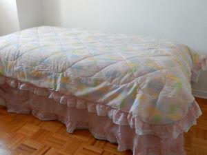 Ensemble couvre-lit pour enfant (lit simple)
