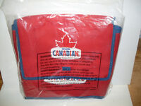 Molson Canadian Insulated Cooler Bag W/ Trap Door *NEW*