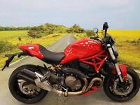 Ducati Monster 821** 1 Former Owner, 1343 Miles, Datatag, Service History**