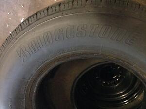 4 truck tires Bridgestone LT245/75/16 all season  Kitchener / Waterloo Kitchener Area image 5
