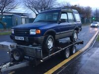 Breaking 300 tdi Land Rover discovery