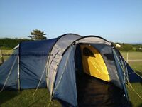 NEW HUGE LICHFIELD DOME 6 MAN 3 ROOM TENT COST 800