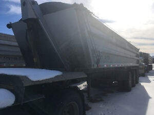 2009 Loadline TriAxle end dump
