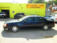 2003 Cadillac DeVille & DTS new safety and warranty Sedan