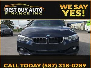 2014 BMW 4 Series 428Xi REDLINE EDITION w/Leather, Sunroof, Back