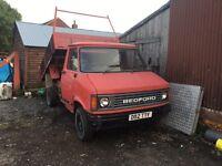 Bedford CF tipper van