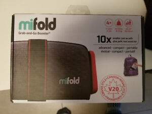 MiFold adjustable booster seats