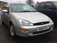 Ford Focus 1.6 + JUST 48,000 MILES + FULL SERVICE HISTORY + 12 MONTHS MOT