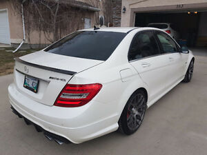 2012 Mercedes-Benz C-Class C63 AMG SPORT FULL MB WARRANTY Sedan