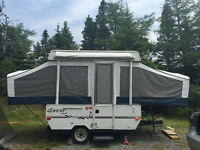 2004 Jayco Quest hardtop trailer with awning