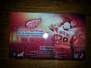 DETROIT RED-WINGS 07 / 08 OFF / LIC MEDALION COLLECTION $ 40.00 Windsor Region Ontario image 4
