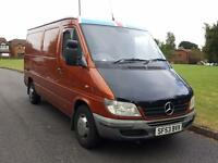 Mercedes-Benz Sprinter 2.2TD 208CDi MWB + FLAT ROOF + PANEL VAN