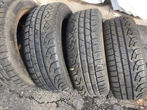 Tires size 205/55R16 winter tires $180