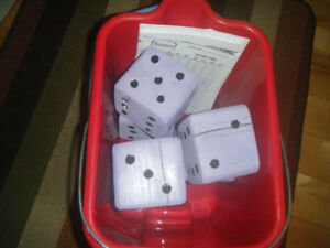 Outdoor Yahtzee Game