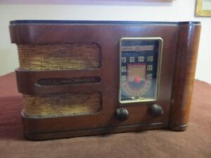 RADIO GENERAL ELECTRIC MODÈLE KL-50 ANTIQUE ANCIEN