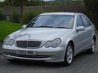 MERCEDES-BENZ C220 2.1TD 2002 CDI AVANTGRADE,1 OWNER,LONG MOT,EXCELLENT DRIVE