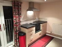 Fully furnished, self contained double studio flat available immediately.