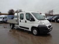 PEUGOET BOXER 2.2HDi (130) | TIPPER | DOUBLE CAB - 7 SEAT | 1 OWNER | 2014 MODEL