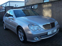 05 05 MERCEDES C200 KOMPRESSOR AVANTGARDE SPORT SE AUTO 1.8 16V FULL LEATHER A/C
