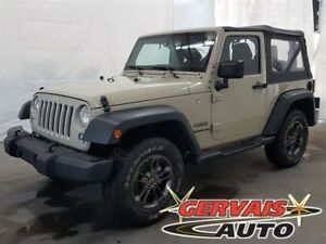 Jeep Wrangler Sport 4x4 MAGS 2017