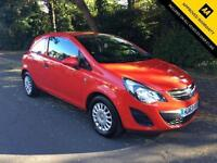 2013 VAUXHALL CORSA 1.0 S ECOFLEX (ONE OWNER FROM NEW)