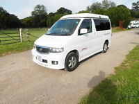 Mazda Bongo - 4 Belts - 4 Seatbelts - Automatic - Side Open Pop Up Bed Roof