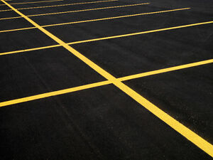 Parking Lot Line Painting - Pavement Marking Kitchener / Waterloo Kitchener Area image 2